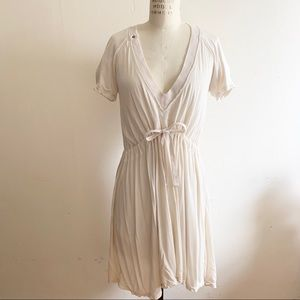 Diesel - V neck draw string dress